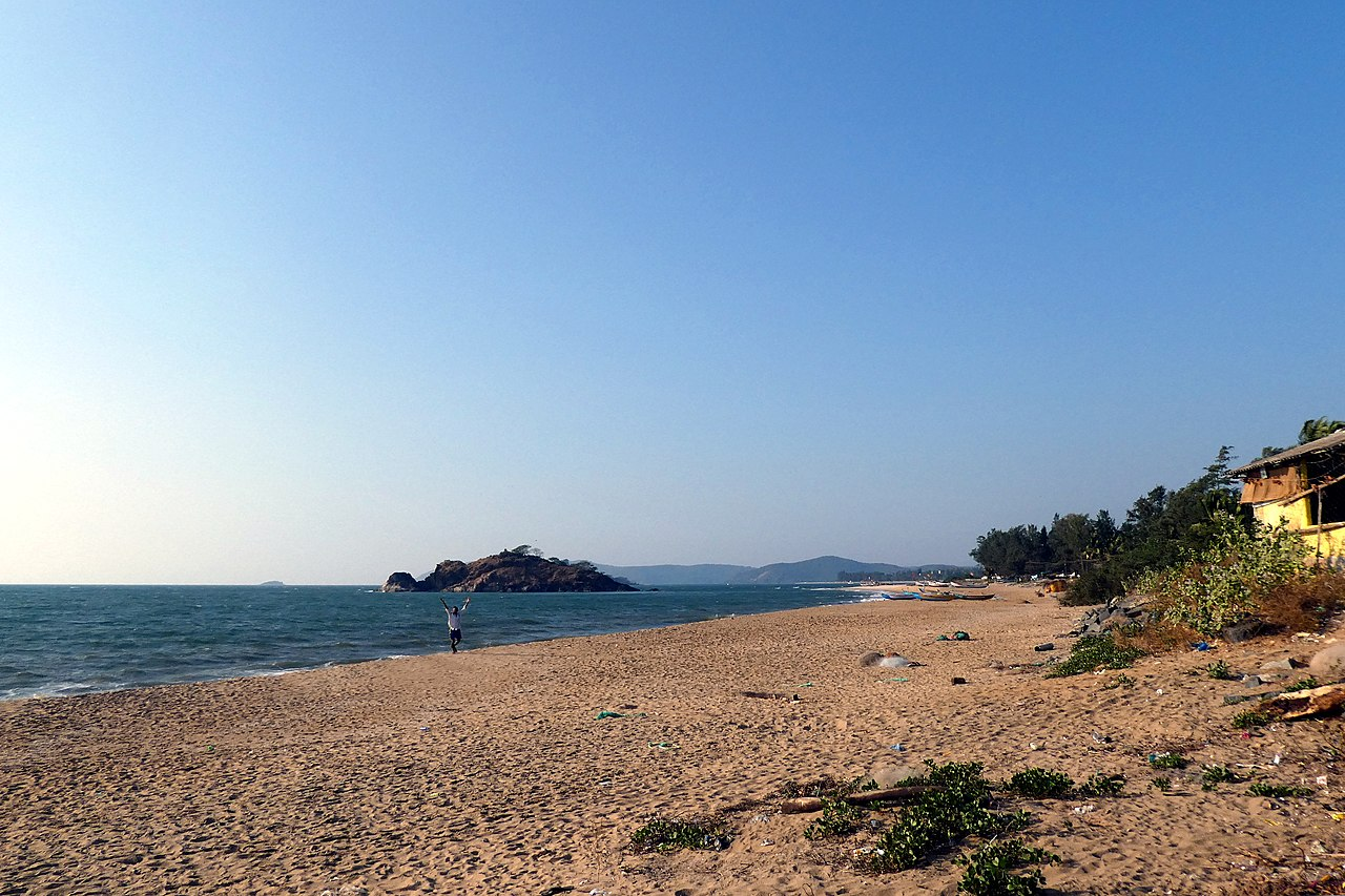 Place To Visit Near Kurumgad Island In Karwar, Majali Beach