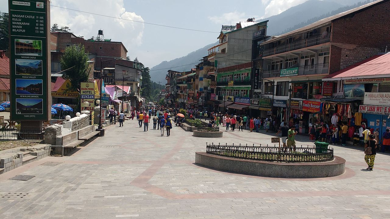 Mall Road - Amazing Place to Visit in Manali& Kullu