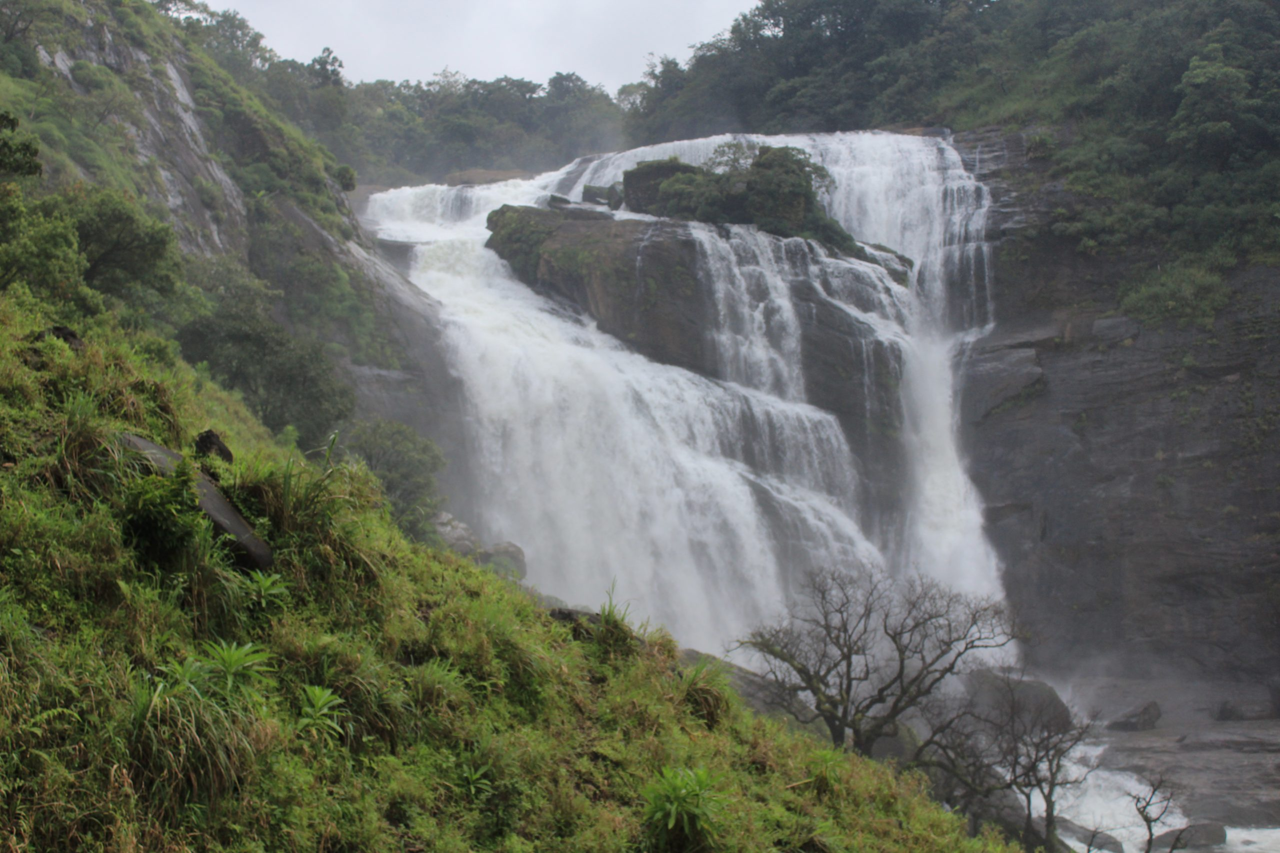 Mallalli Falls - Main Attractions Of Coorg Scotland of India