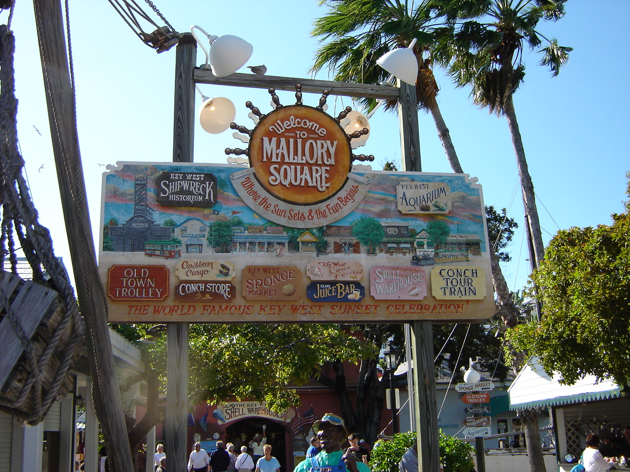 Popular Destination in the Florida Keys-Mallory Square
