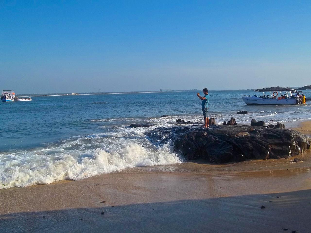 Top Tourist Destination In Udupi-Malpe Beach