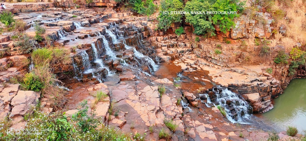 Attraction Waterfalls in Chhattisgarh-Charre – Mandawa Waterfall