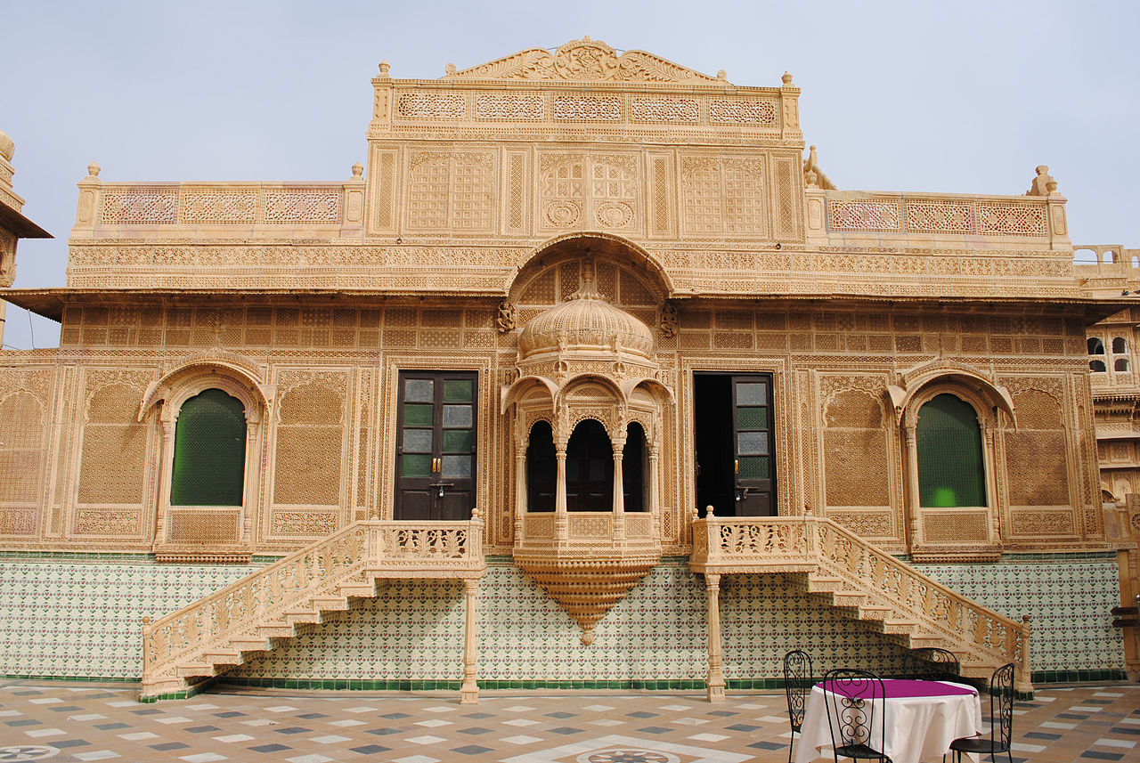 Beautiful Mandir Palace in Jaisalmer