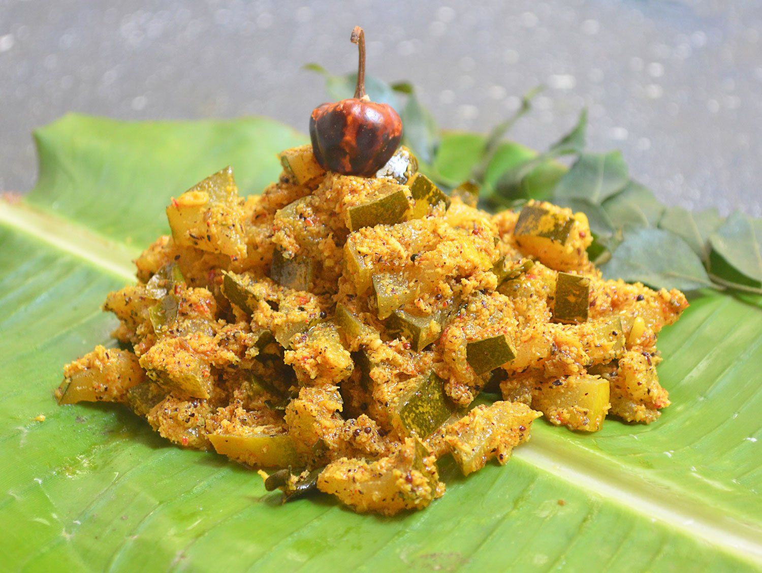 Coorg Style Bollari Barthad Or Mangalore Cucumber Stir Fry - Best Coorgi Dishes To Try When In Coorg