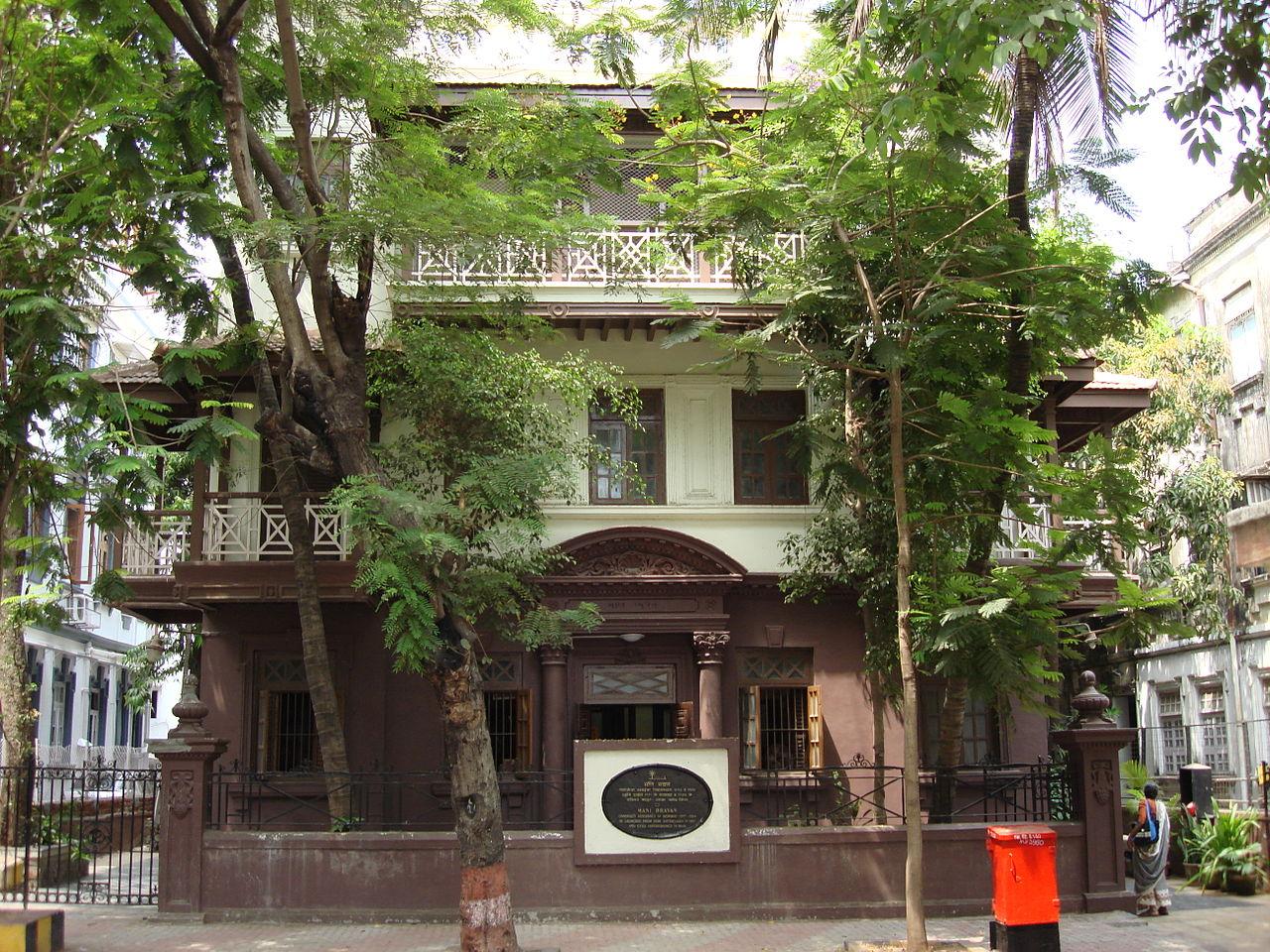 Place To Visit Near Afghan Church-Mani Bhavan, Gandhi's house in Mumbai