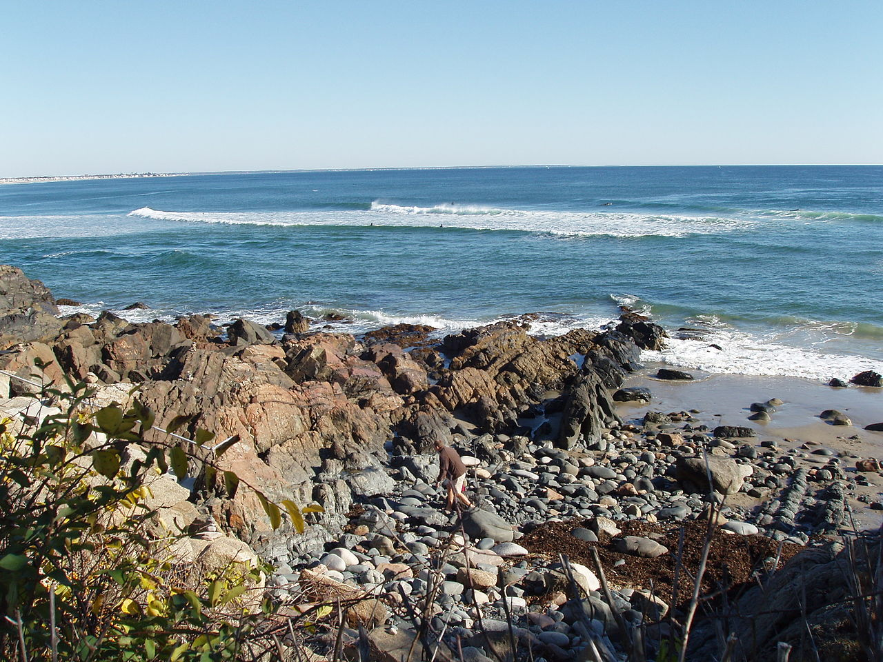 Attraction Tourist Place In Maine-Marginal Way and Ogunquit Beaches