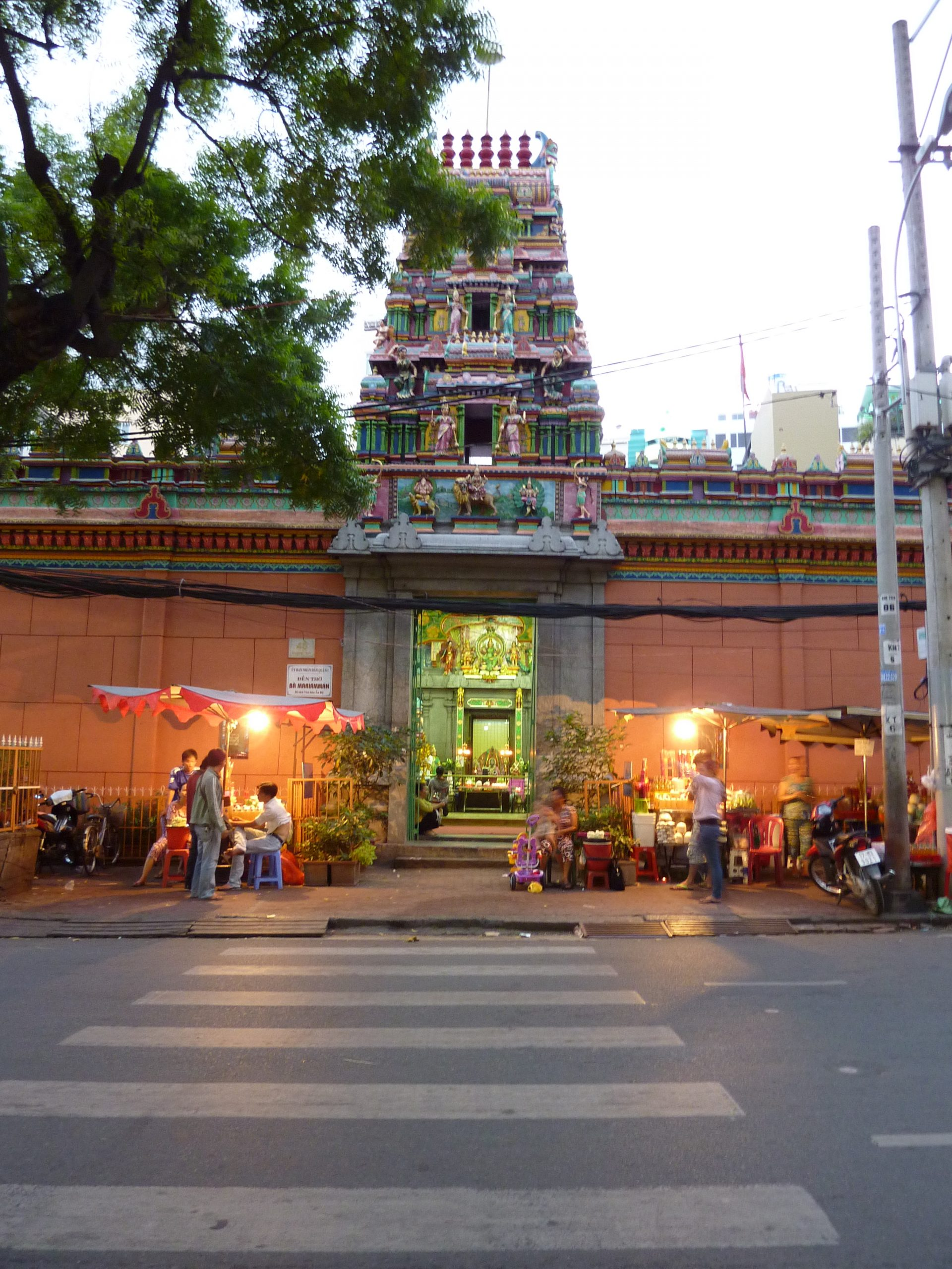 Mariamman Hindu Temple-Top Sightseeing Place in Ho Chi Minh City