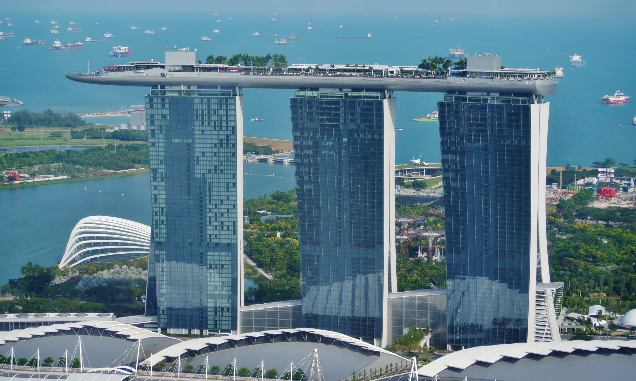 Spectacular Place in Singapore-Marina Bay