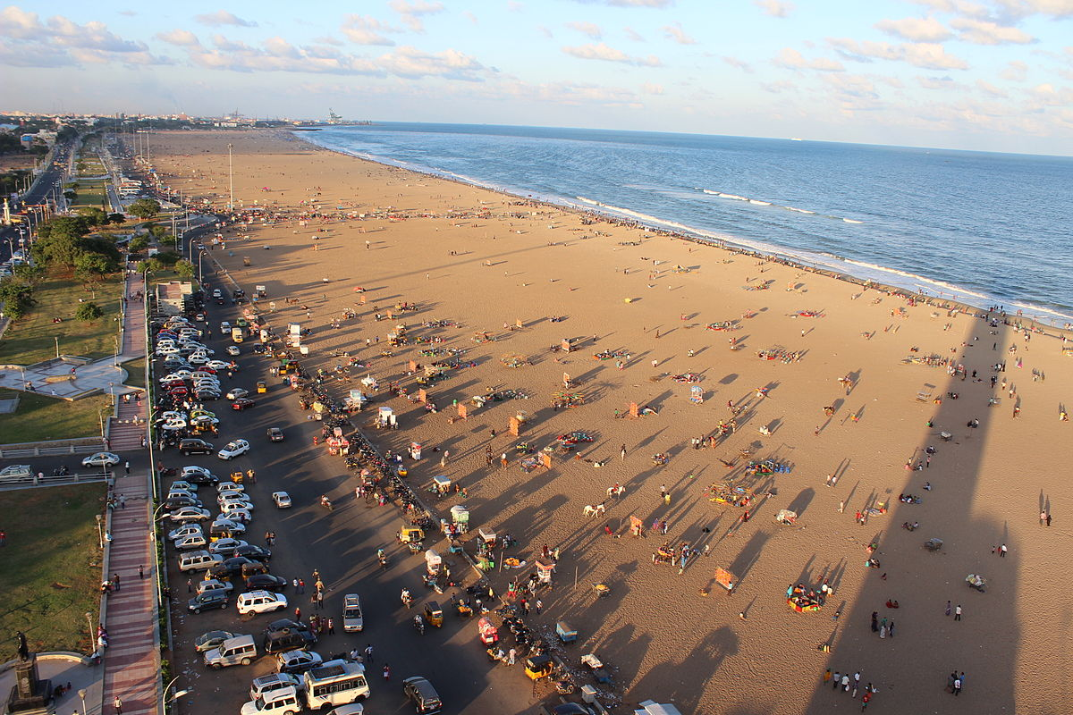 Marina Beach - Amazing beache in Chennai For Kids & Families