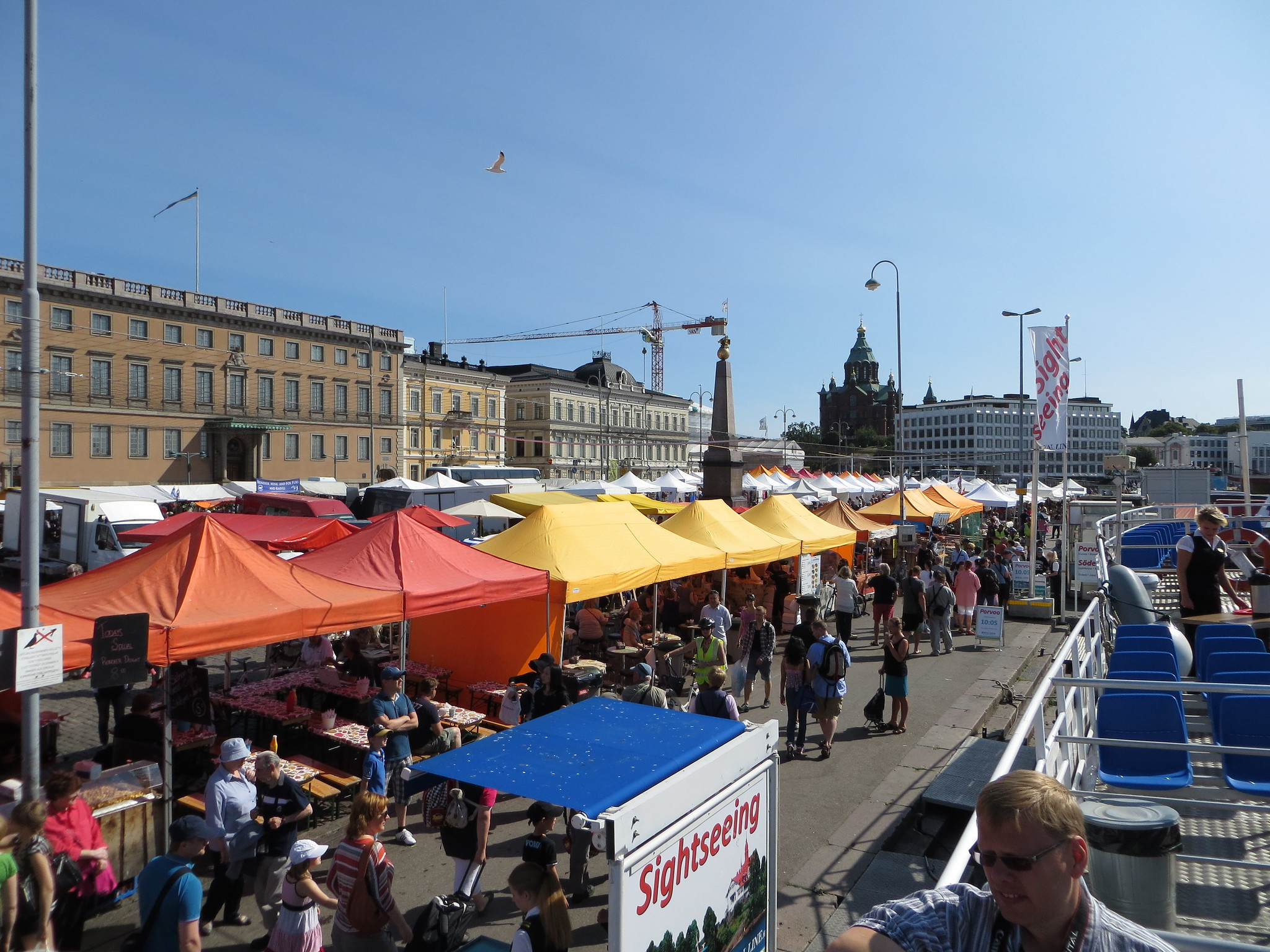 Market Square, Kauppatori, Helsinki Travel