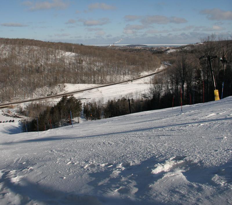 Top Ski-Resort in Michigan-Marquette Mountain