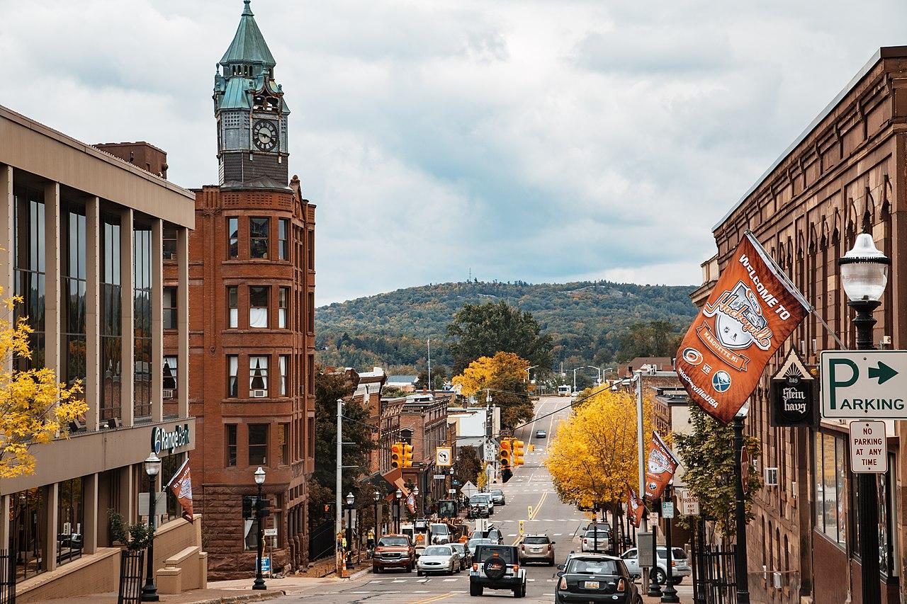 Best Towns in Michigan-Marquette