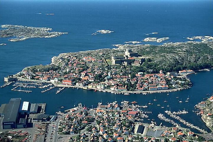 Marstrand : A beautiful small island of Sweden
