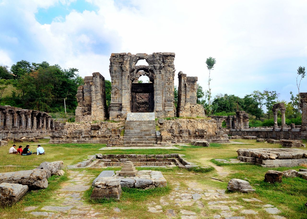 Amazing Place to See in Anantnag, Jammu and Kashmir-Martand Sun Temple