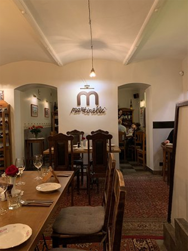 Martinelli Riga Restaurant That One Must Try in Riga