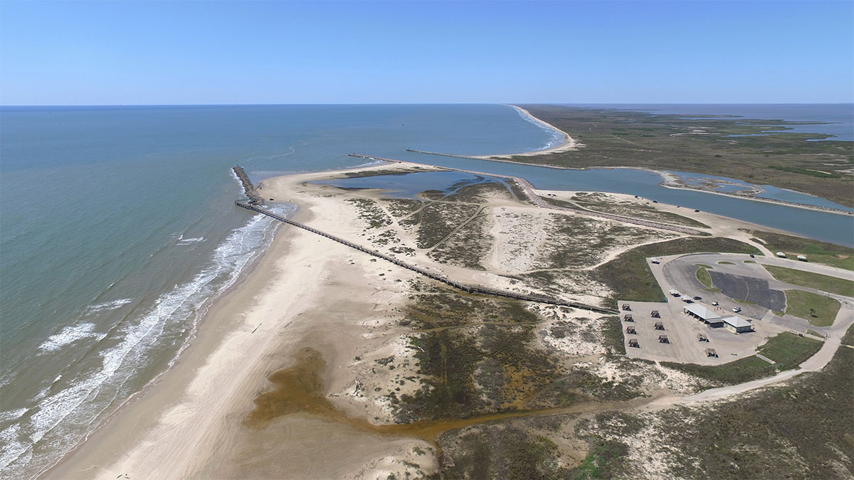 Popular Beach Near Houston-Matagorda Bay Nature Park