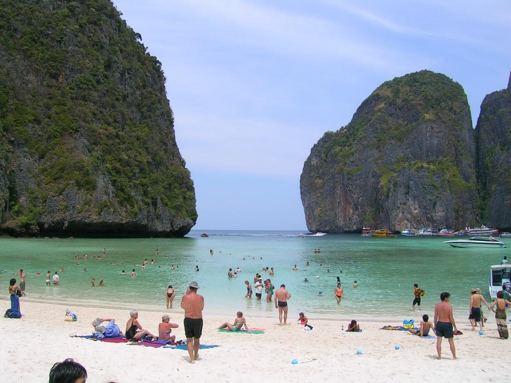 Amazing Beach in Thailand-Maya Bay