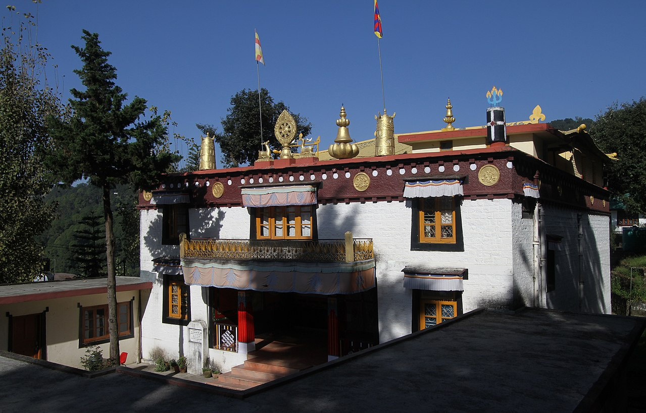Attraction Places For A Two Day Trips From Delhi-McLeodganj Monastery