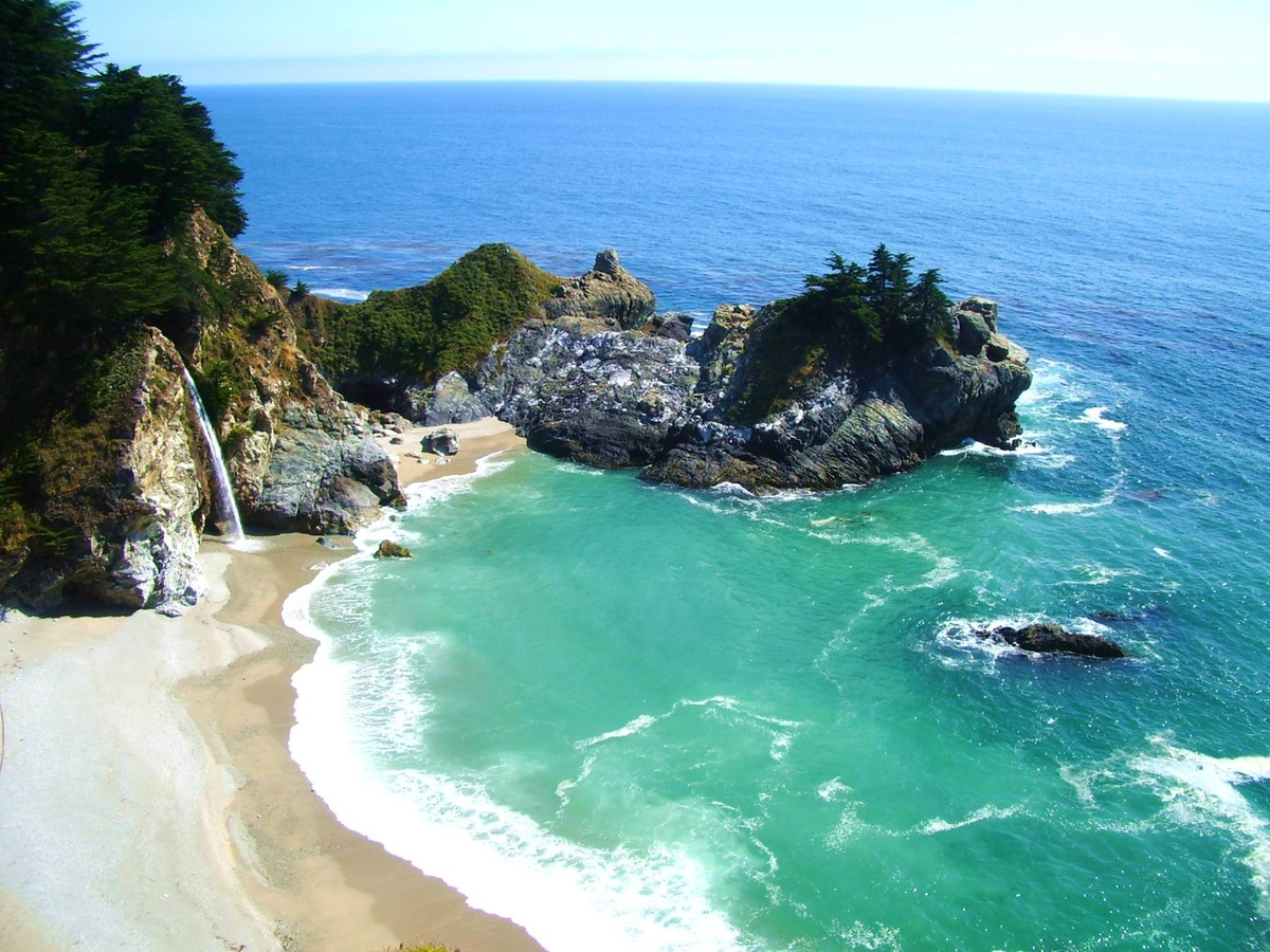 Top-rated in California-McWay Cove Beach