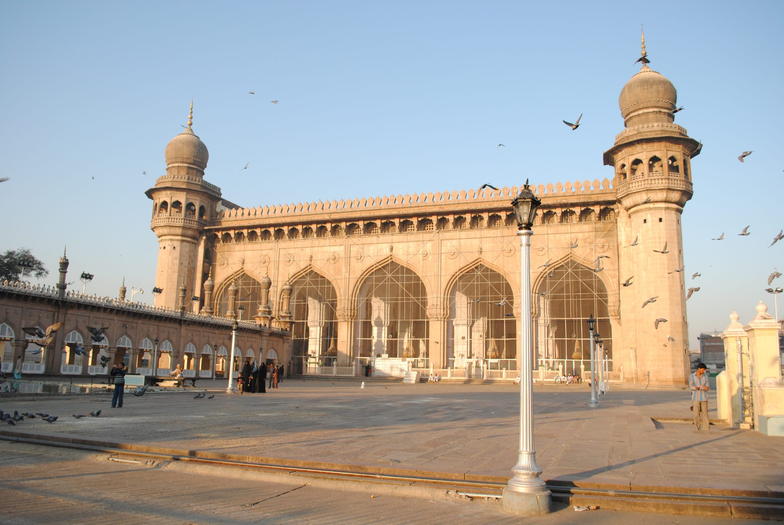 Witness Grandeur at Mecca Masjid