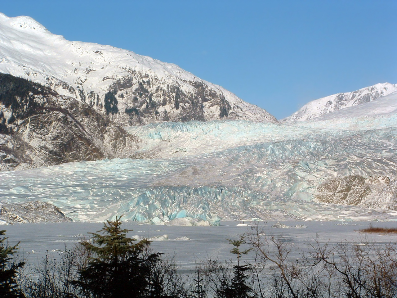 Mendenhall Glacier - Amazing Glacier Location In Anchorage