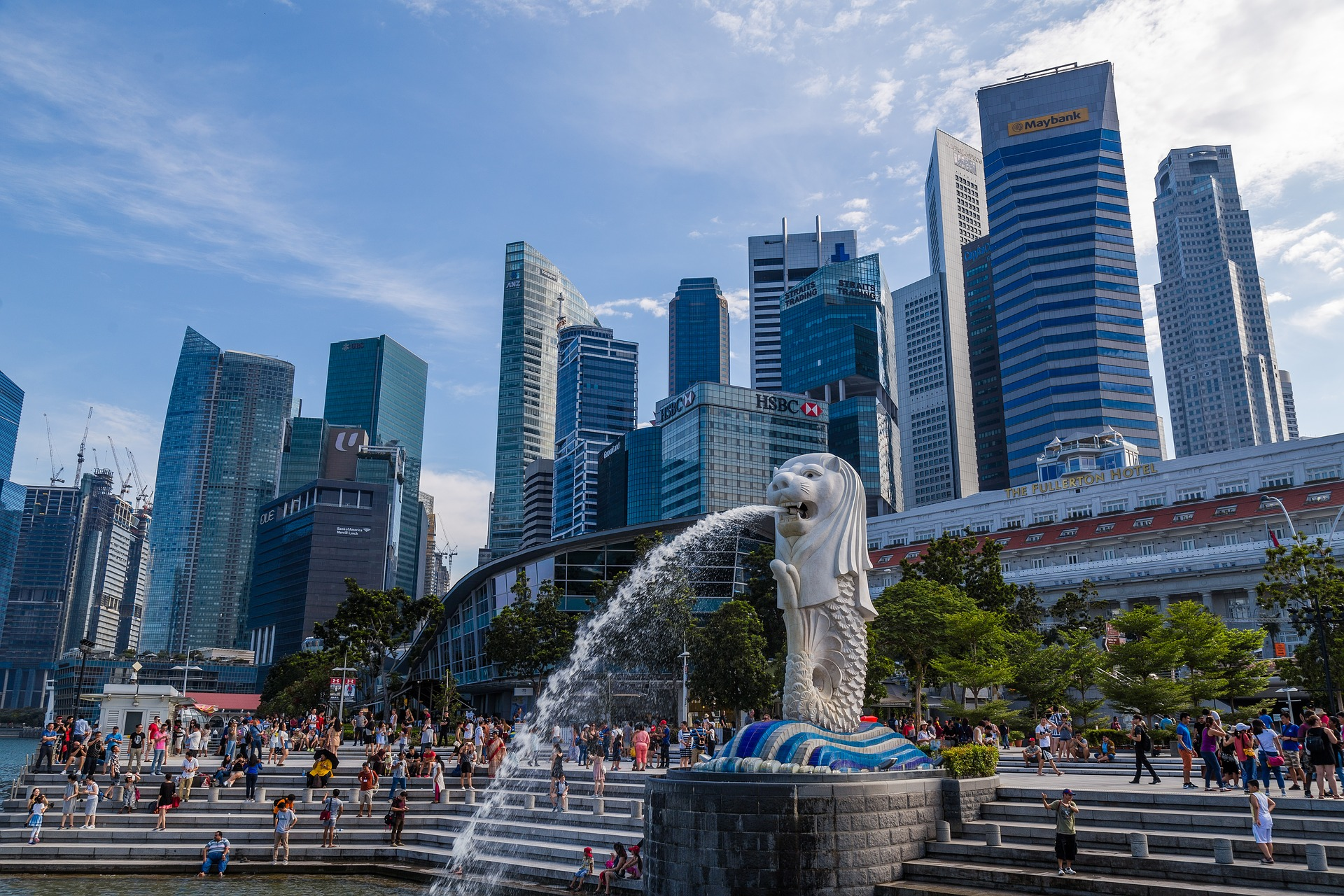 Amazing Place in Singapore-Merlion Park