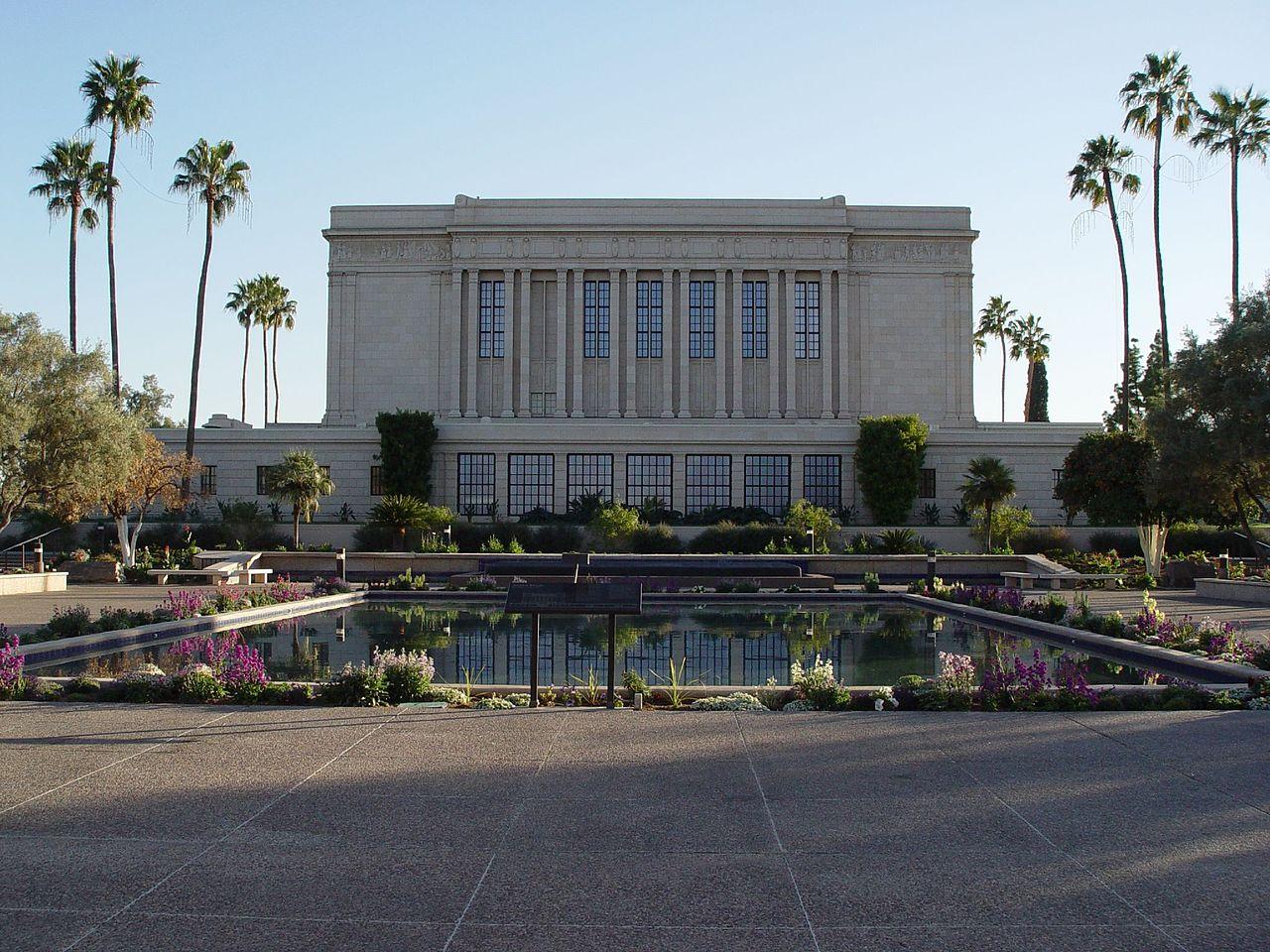 Popular Place To Visit In Mesa-Mesa Arizona Temple