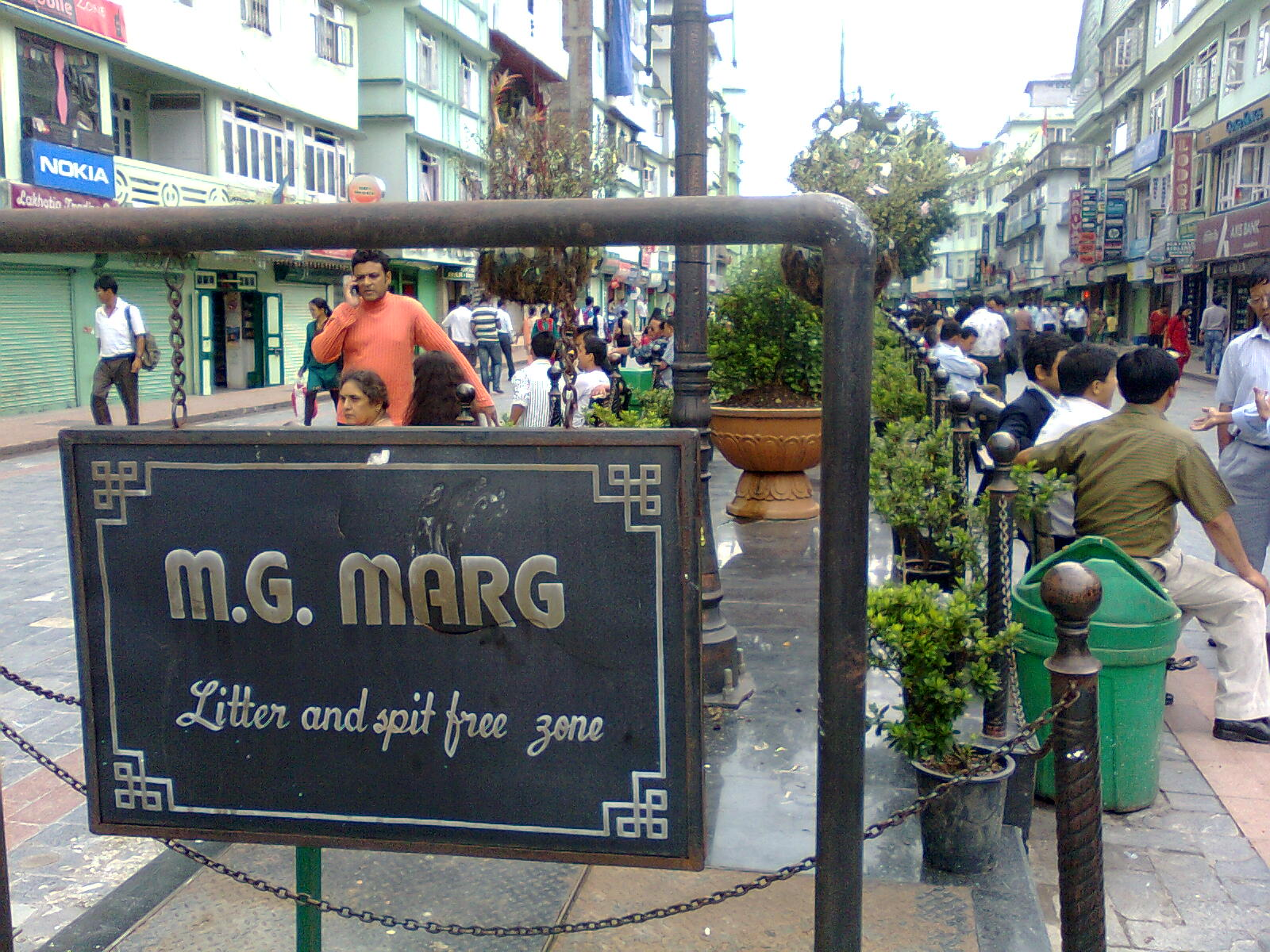MG Marg Best Shopping Places In Gangtok