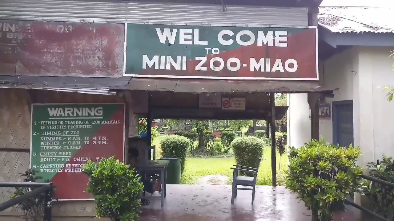 Best Attraction in Namdapha-Miao Mini Zoo