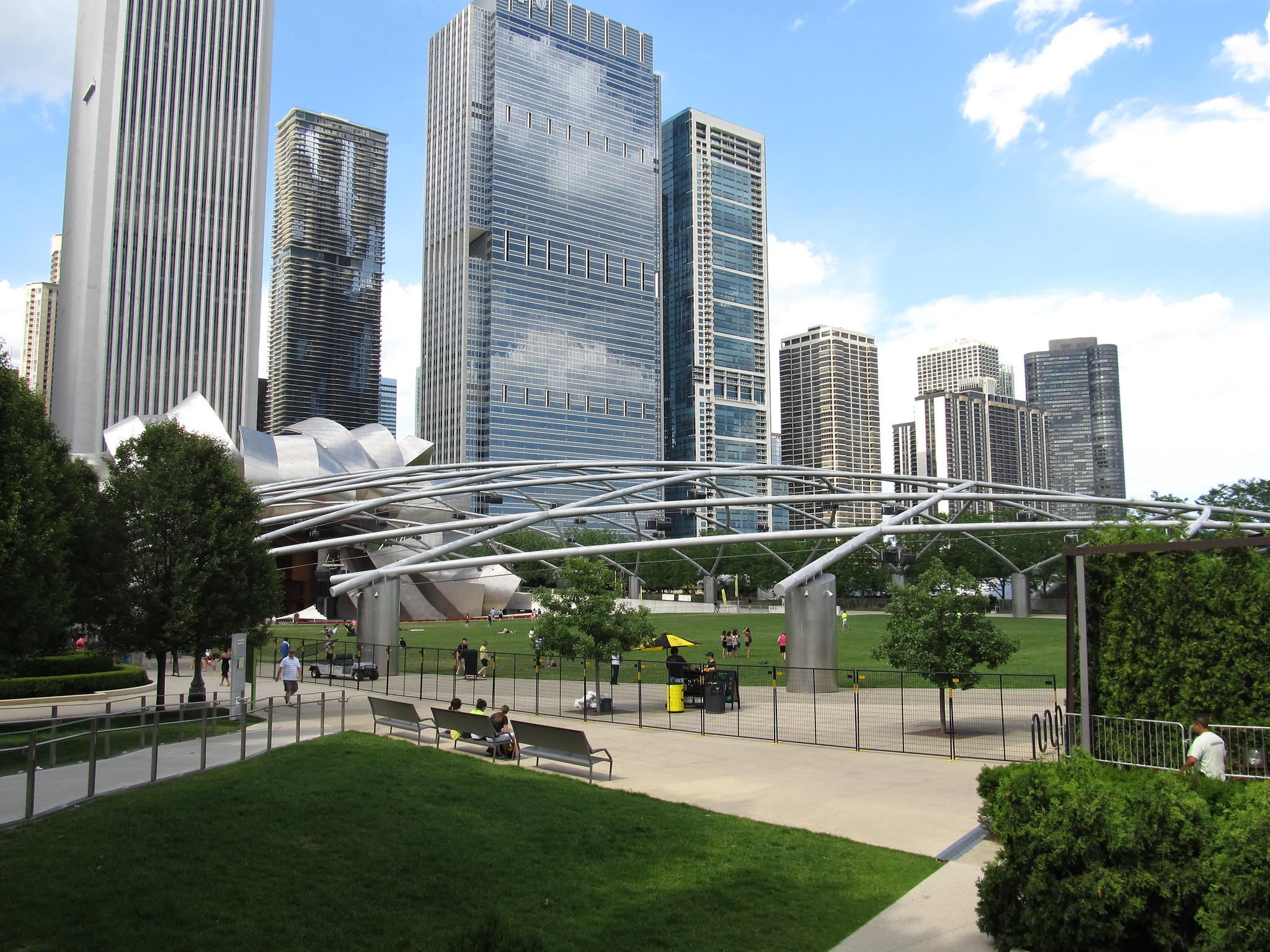 Amazing Place to See in Chicago-Millennium Park
