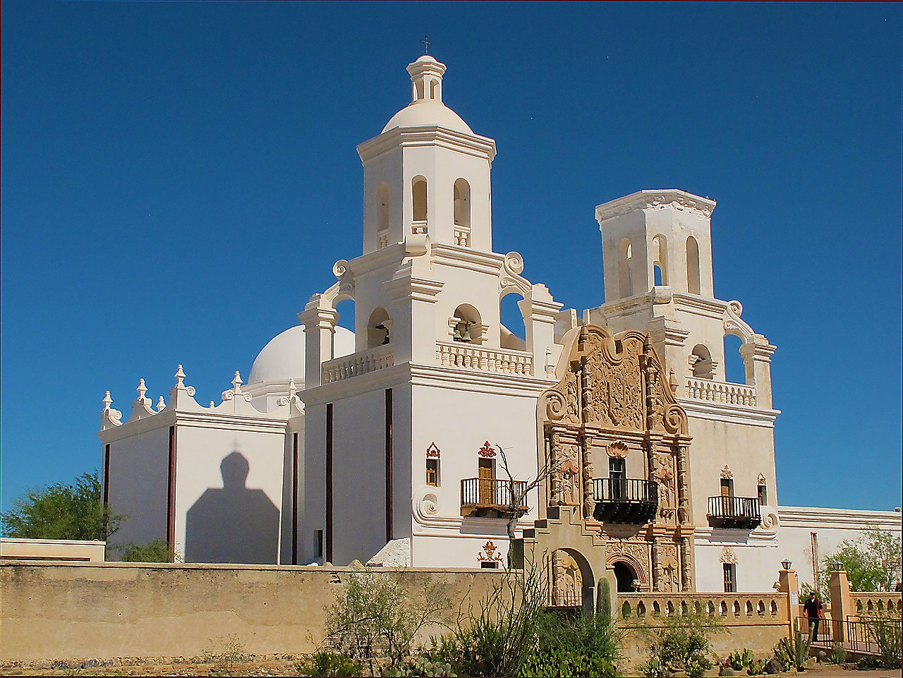 Top Place To Visit In Tucson-Mission San Xavier del Bac