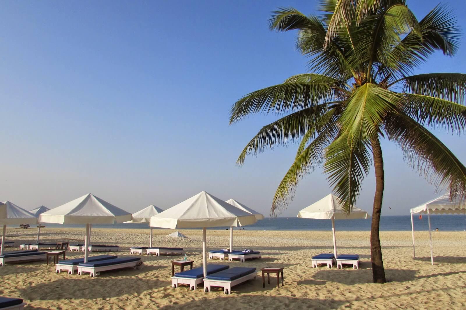 Best Beache in South Goa - Mobor Beach