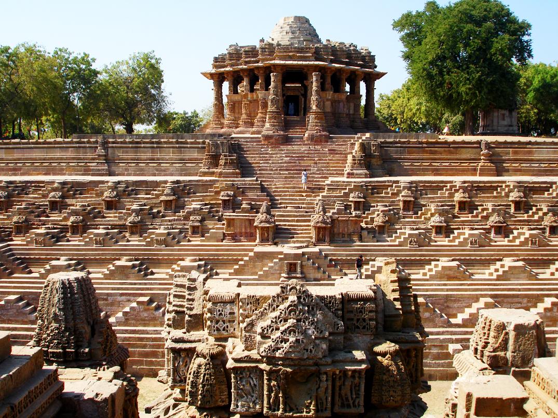 Place To Visit Near Becharaji Temple, Modhera Sun Temple, Mehsana, Gujarat