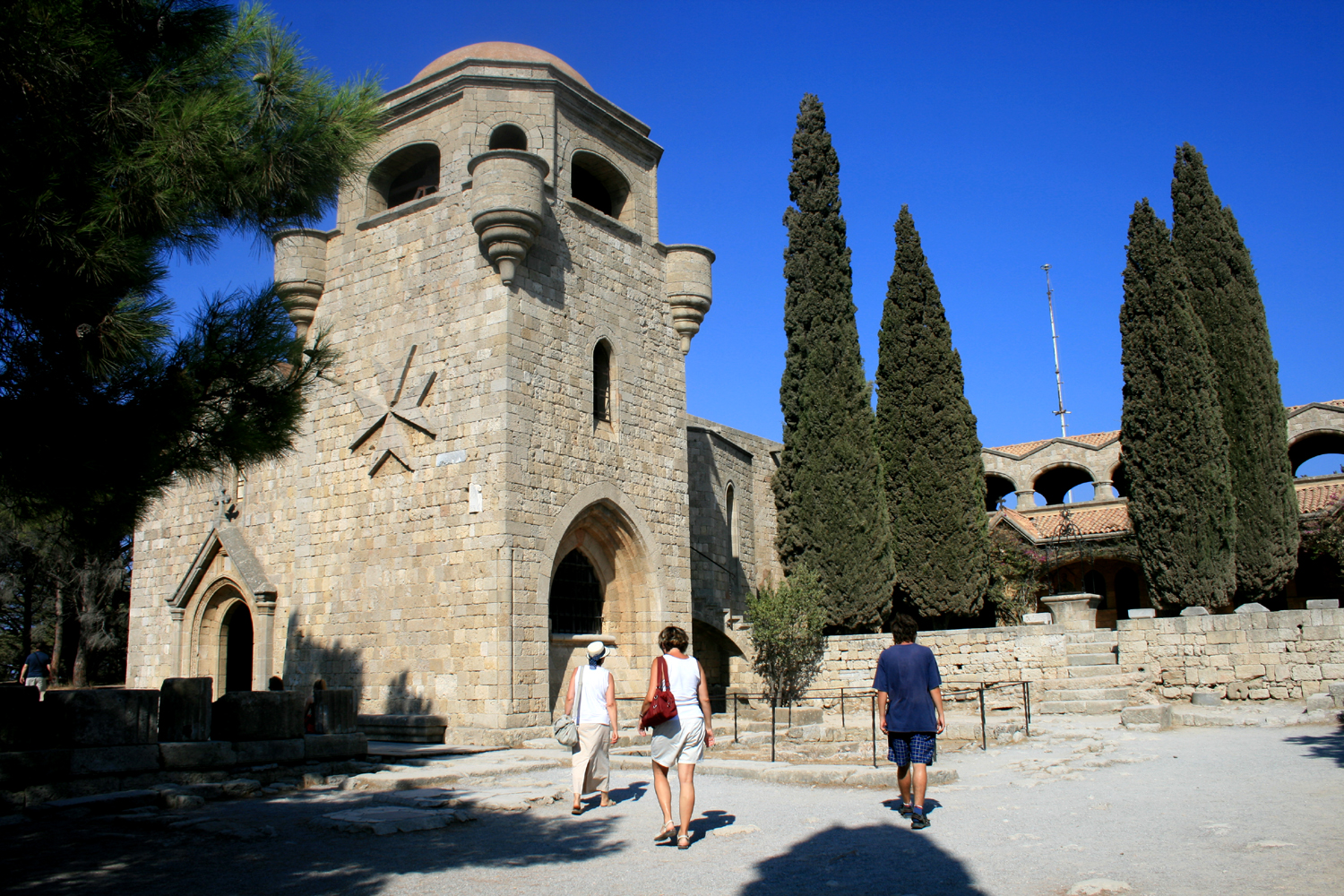 Visit Monastery of Filerimos in Rhodes: 15th Century Gothic-Style Monastery