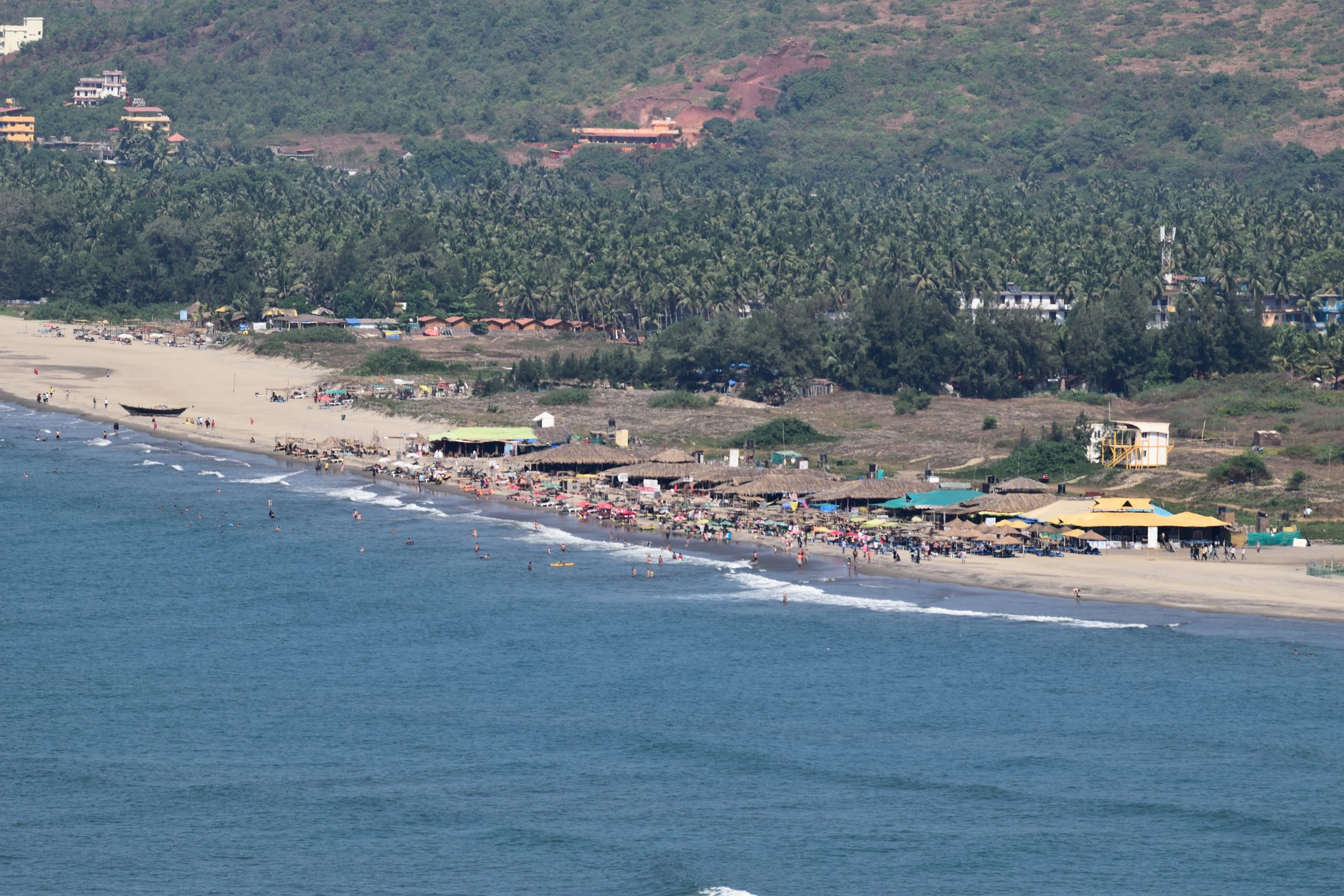 Get Some Vitamin Sea At This Best Beache in North Goa - Morjim Beach