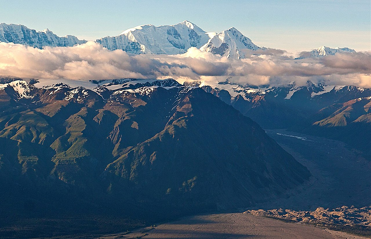 Tallest Mountain In Alaska-Mount Bona