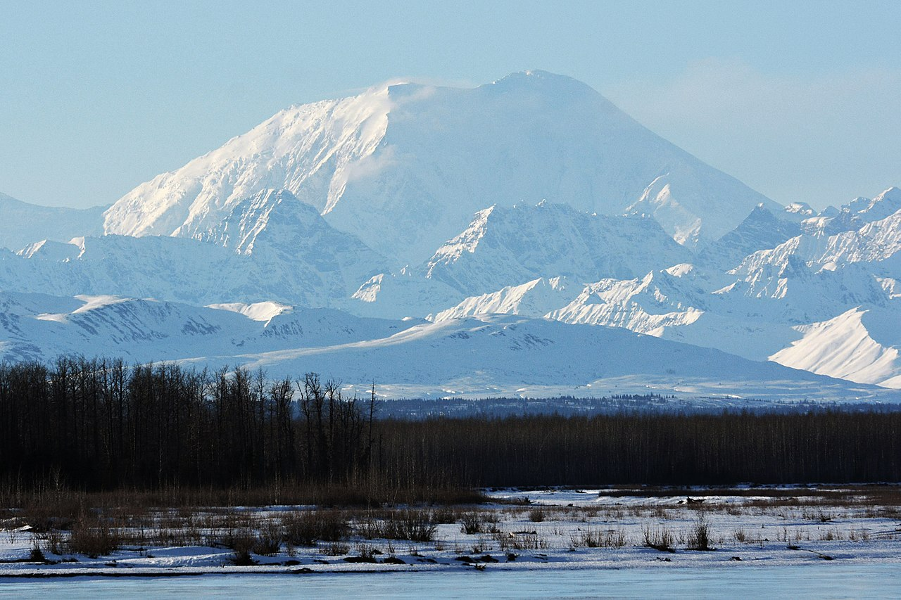 Tallest Mountain in USA Alaska-Mount Foraker