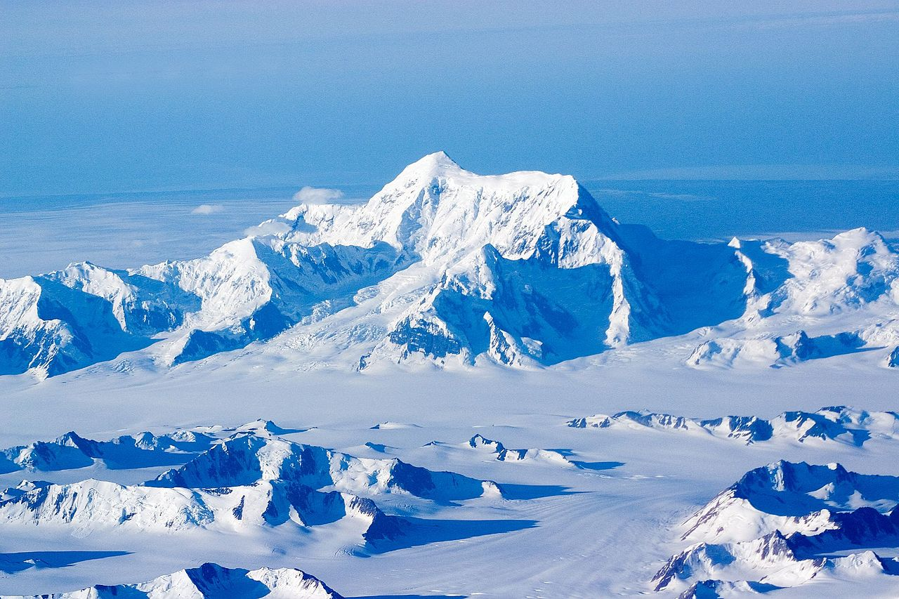 Highest Mountain in Alaska-Mount Saint Elias