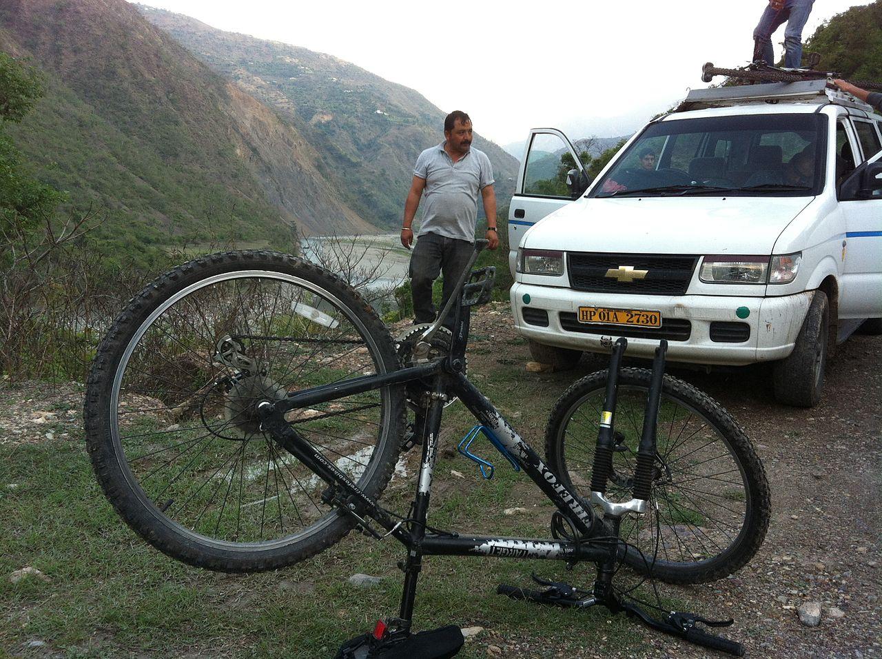 Best Place To Visit In Tattapani-Mountain Biking
