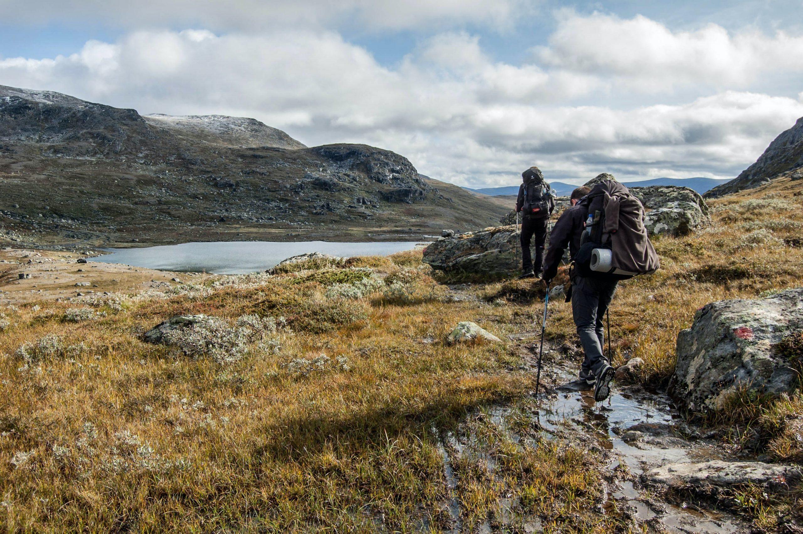 Mountain Climbing in Sweden