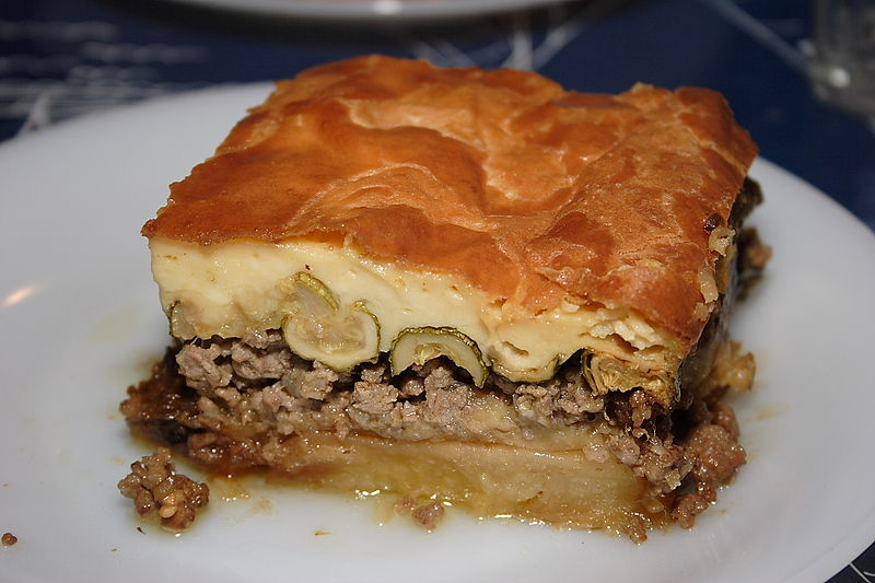 Moussaka is the National Food of Greece