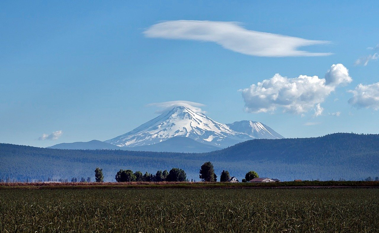 Famous Vacation City in California-Mt. Shasta