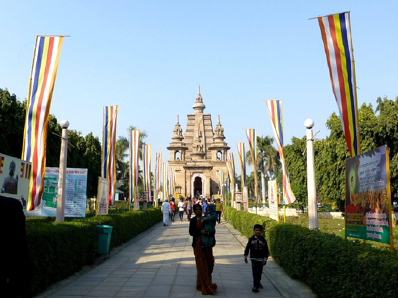 Top Place to Visit in Sarnath-Mulagandha Kuti Vihar