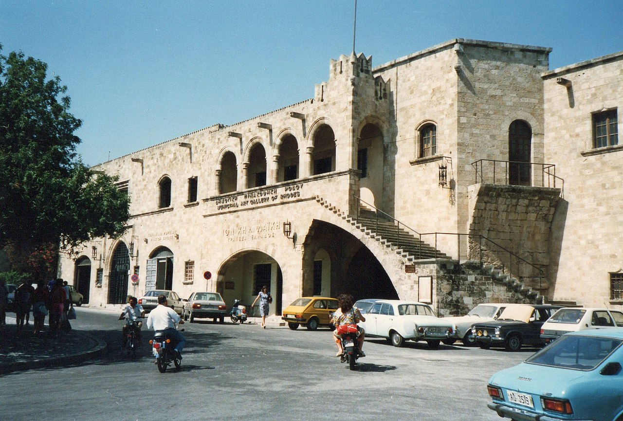 Sightseeing Place to Visit In Rhodes-Municipal Art Gallery