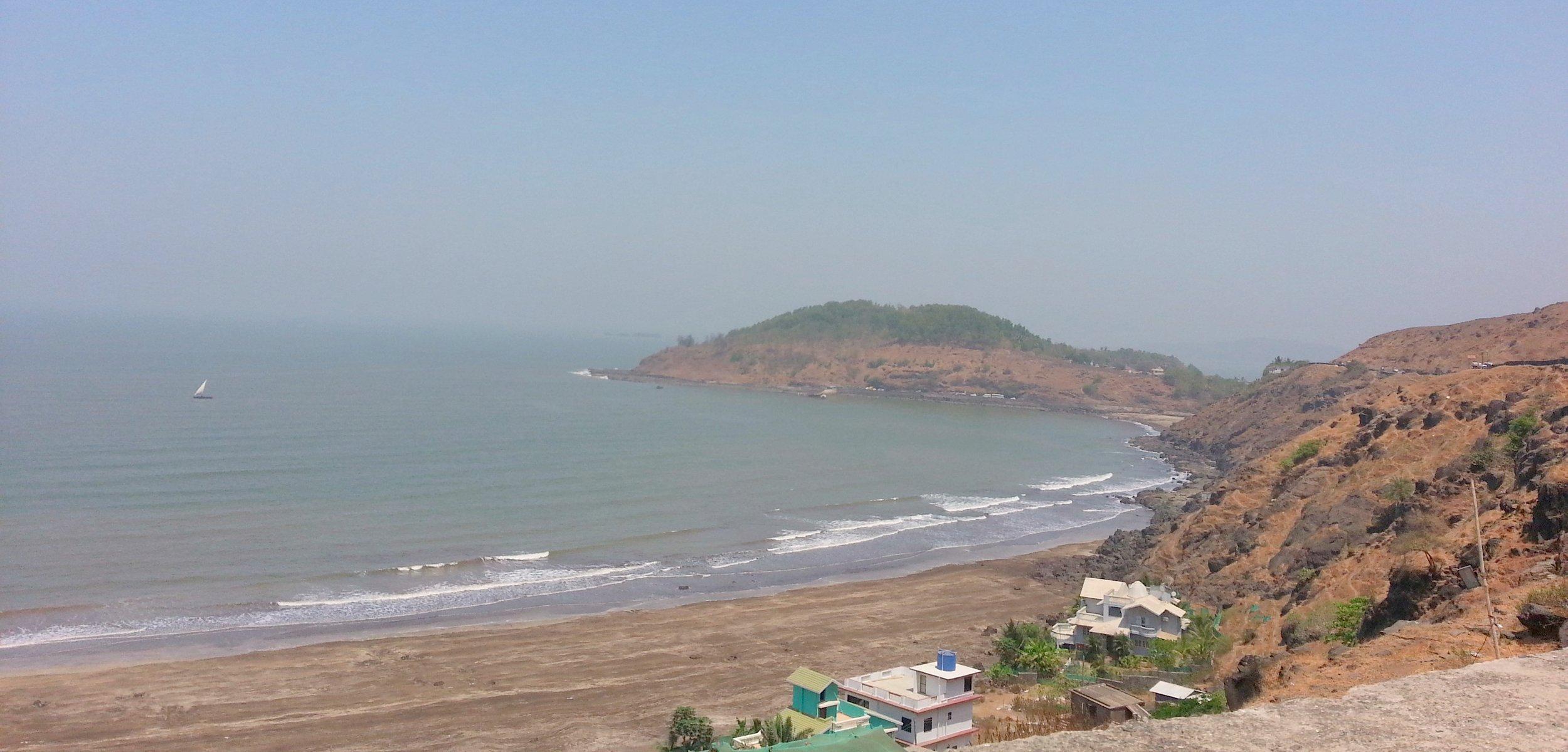 Amazing Murud Beach in the Konkan Coast of Maharashtra