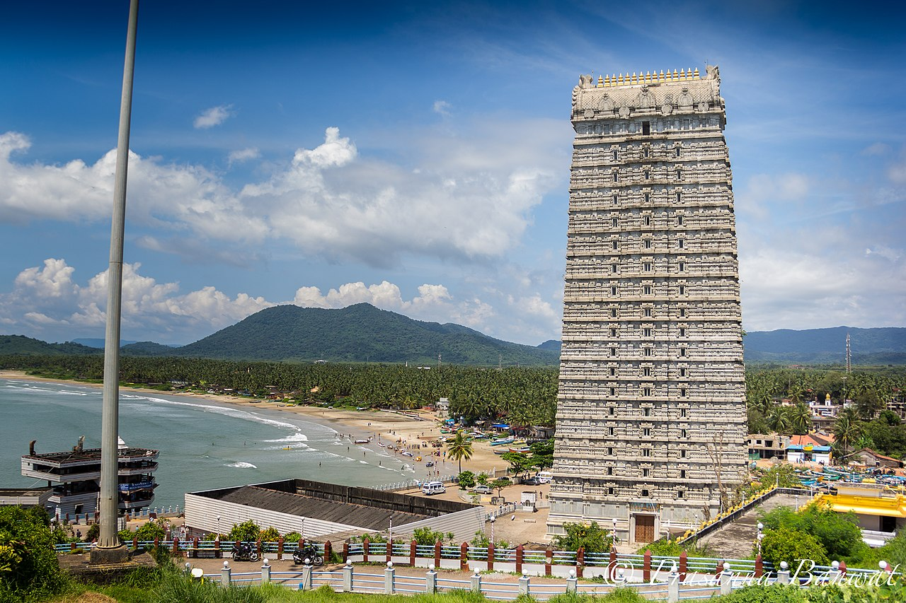 Best Place To See Near The Bhatkal Jali Beach In Bhatkal-Murudeshwar Temple