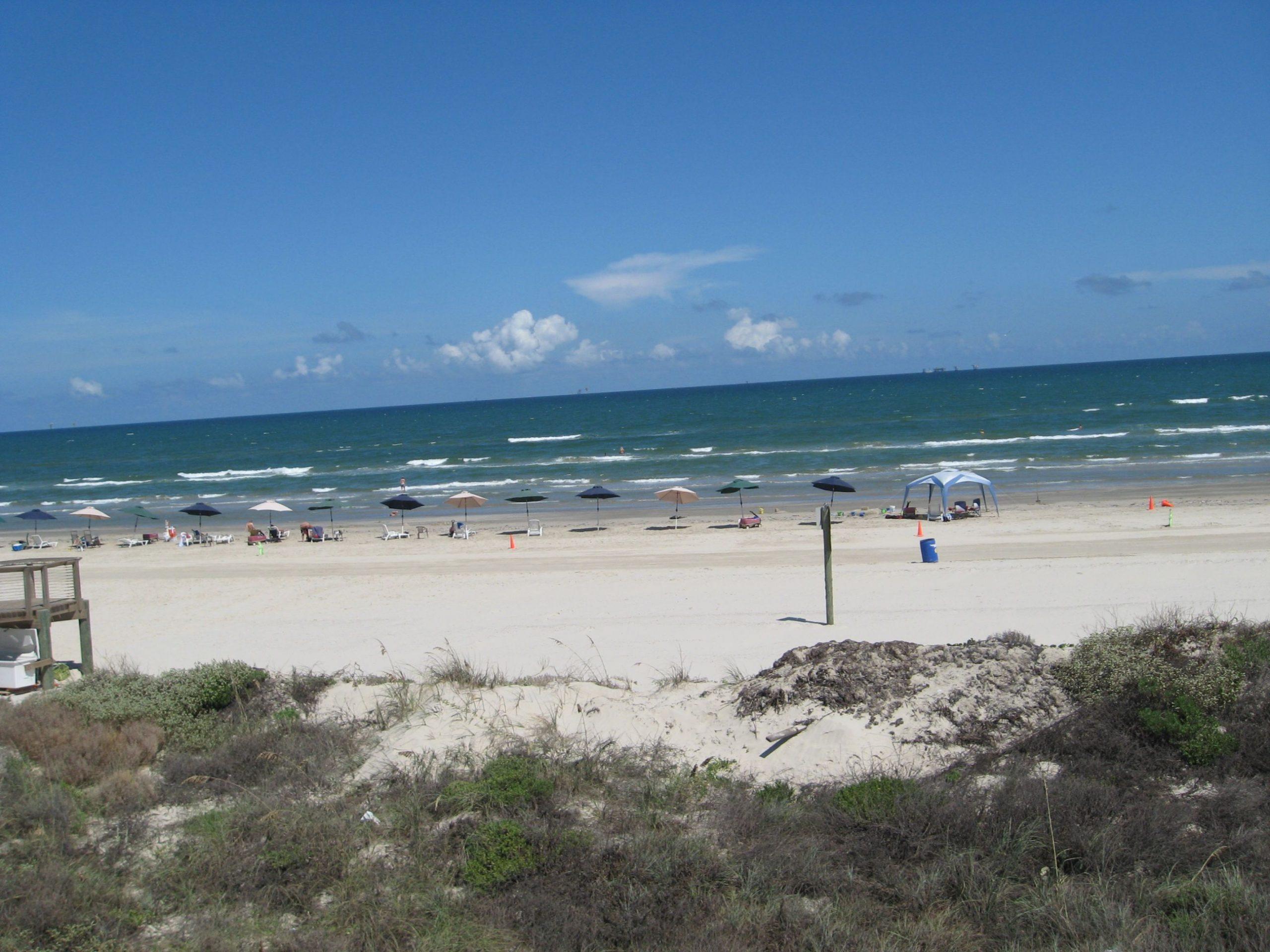 Top Beach in Texas-Mustang Island State Park, Port Aransas