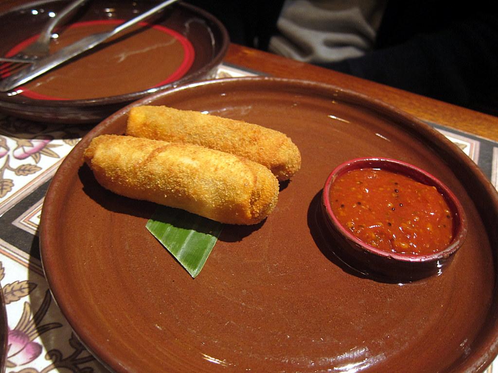 Must-Try Dish in Puducherry-Mutton Rolls