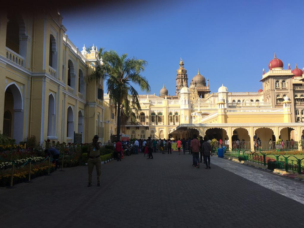 Mysore Palace Of The Current Times