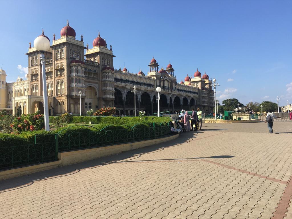 Mysore Palace or The Amba Vilas Palace